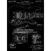 Prestige Art Studios Fender Stratocaster Tremolo Patent Graphic Art