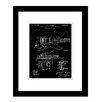 Prestige Art Studios Fender Stratocaster Tremolo Patent Framed Graphic Art