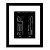 Prestige Art Studios 92 Nokia - First Cell Phone Framed Graphic Art
