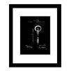 Prestige Art Studios Edison Light Bulb Framed Graphic Art
