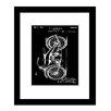 Prestige Art Studios Harley Motorcycle Framed Graphic Art