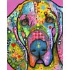 Prestige Art Studios Bloodhound Painting Print