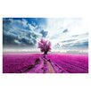 Prestige Art Studios Violet Fields Photographic Print