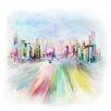 Prestige Art Studios Morning in the City Painting Print