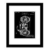Prestige Art Studios Harley Motorcycle Patent Framed Graphic Art