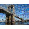 Prestige Art Studios Brooklyn Bridge By Michael Sean Gallaher Graphic Art