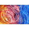Prestige Art Studios Acrylic Rose Macro Graphic Art