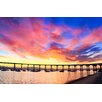 Prestige Art Studios Coronado Bridge - San Diego Photographic Print