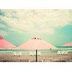 Prestige Art Studios Retro Pastel Beach Photographic Print
