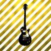 Prestige Art Studios Royal Rock Guitar Graphic Art