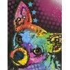 Prestige Art Studios Rat Terrier Painting Print