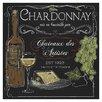 Prestige Art Studios Wine Chalkboard IV by Fiona Stokes-Gilbert Vintage Advertisement
