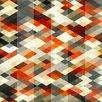 Prestige Art Studios Retro Rhombus Graphic Art