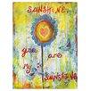 Prestige Art Studios Sunshine by Jane Hinchliffe Painting Print