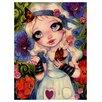 Prestige Art Studios The Talking Flowers by Natasha Wescoat Painting Print
