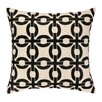 Cococozy Cococozy Links Embroidered Throw Pillow