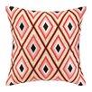 Iza Pearl Design Iza Pearl Diamond Embroidered Throw Pillow