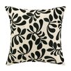 Iza Pearl Design Iza Pearl Fancy Frond Embroidered Throw Pillow