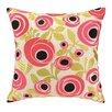 Iza Pearl Design Iza Pearl Rose Garden Embroidered Throw Pillow