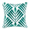 Elizabeth Olwen Elizabeth Olwen Vines Embroidered Throw Pillow