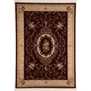 Flora Carpets Designteppich Deamon in Bordeauxrot/Hellbeige