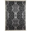 Flora Carpets Festival Grey/Black Area Rug