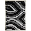 Flora Carpets Isilti Grey/Black Area Rug