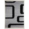 Flora Carpets Designteppich Torino in Grau/Schwarz