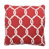 Parasol Totten Key Trellis Indoor/Outdoor Throw Pillow