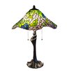 "Fine Art Lighting Tiffany 23"" H Table Lamp with Novelty Shade"