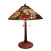 "Fine Art Lighting Tiffany 26"" H Table Lamp with Cone Shade"
