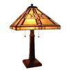 """Fine Art Lighting Tiffany 25"""" H Table Lamp with Empire Shade"""