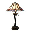 "Fine Art Lighting Tiffany 26"" H Table Lamp with Bell Shade"