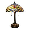 """Fine Art Lighting Tiffany 24"""" H Table Lamp with Bowl Shade"""