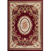 Persian-rugs Tobis Traditional Burgundy Area Rug