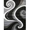 Persian-rugs Abstract Gray Area Rug