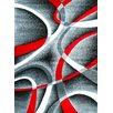 Persian-rugs Modern Gray Area Rug