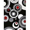 Persian-rugs Modern Black Area Rug