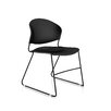 Trendway Jet Armless Multipurpose Stacking Chair (Set of 4)