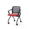 Trendway Zego Mid-Back Mesh Nesting chair (Set of 2)