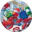 Creative Converting Seafood Celebration Dessert Plate (Set of 8)