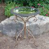 Gold Accent Gloss Birdbath - Tierra Garden Bird Baths