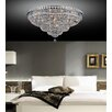 Crystal World 21 Light Flush Mount
