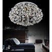 Crystal World 27 Light Flush Mount