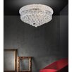Crystal World 5 Light Flush Mount