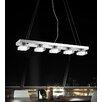 Crystal World Paulina 5 Light LED Chandelier