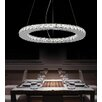 Crystal World Ring LED Light Chandelier