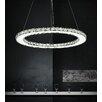 Crystal World Ring 24 Light LED Chandelier