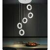 Crystal World Ring 30 Light LED Chandelier