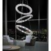 Crystal World Ring 54 Light LED Chandelier
